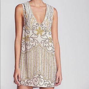 NWT Spell and the Gypsy Elsa Dress Sequin Velvet